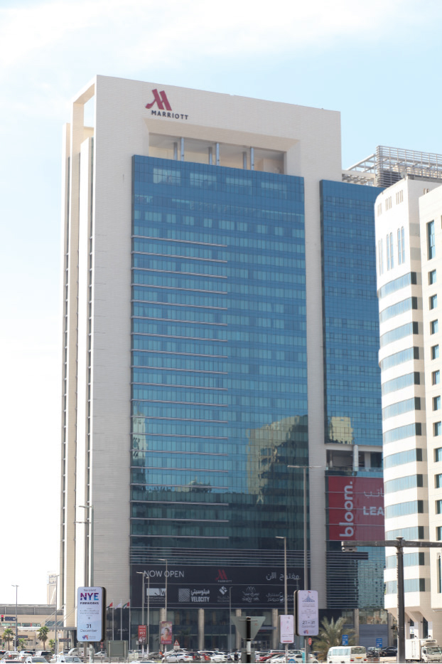 Marriot Hotel, Bloom Central Abu Dhabi